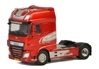 DAF XF Super Space Cab MY2017 in Red - Cab Only (1:50) by WSI item number: WSI04-2063